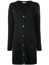 P.A.R.O.S.H. Long Cardigan Black