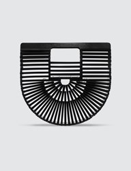 Cult Gaia Acrylic Ark Mini Bag Black
