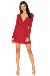 Bcbgeneration Surplice Dress Red