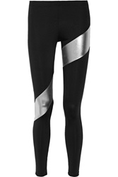 Norma Kamali Paneled Jersey Leggings