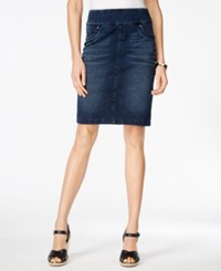 Styleandco. Style And Co. Pull On Punk Wash Denim Skirt Only At Macy's