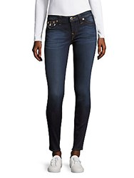 True Religion Skinny Whiskered Jeans Mid Wash Dream Blue