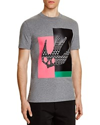 Mcq By Alexander Mcqueen Swallow Graphic Slim Fit Tee Statue E Melange
