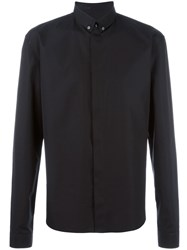 Haider Ackermann Concealed Fastening Button Down Shirt Black