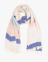 A Peace Treaty Mamos Scarf Blue