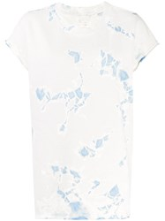 Raquel Allegra Abstract Print T Shirt Neutrals