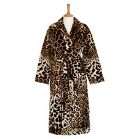 Roberto Cavalli Bravo Shawl Bathrobe 001 Brown