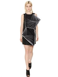 Christopher Kane Viscose Organza And Crepe Duchesse Dress