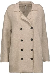 Soyer Spencer Merino Wool Blend Peacoat Beige