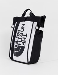 The North Face Base Camp Tote Bag In White