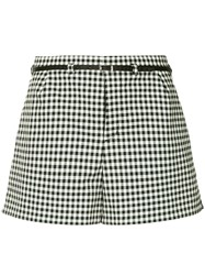 Guild Prime Gingham Belted Shorts Multicolour