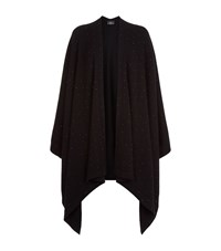 William Sharp Swarovski Crystal Cape Female Black