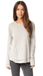 Wilt Mock Layer Tee Grey Heather