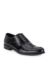 Kenneth Cole Join The Club Leather Oxfords Black
