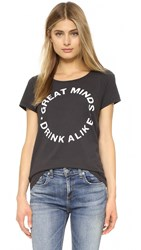 Sol Angeles Great Minds Tee Vintage Black