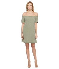 Ag Adriano Goldschmied Harley Tent Dress Sulfer Harvest Olive Women's Dress Green