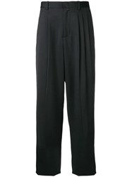 Chalayan Straight Trousers Black