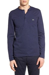 Lacoste Men's Textured Knit Henley