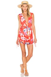 6 Shore Road Travelers Cover Up Dress Red
