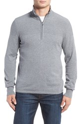 The North Face Men's 'Mt. Tam' Quarter Zip Sweater Zinc Grey Light Heather