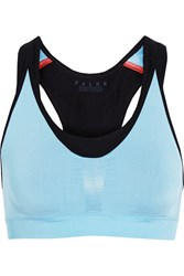 Falke Ergonomic Sport System Layered Stretch Sports Bra Blue
