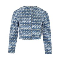Lowie Wave Print Jacket