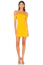 Jay Godfrey Lang Dress Yellow