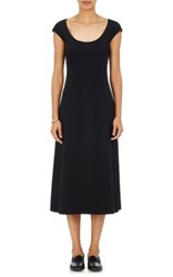 The Row Women's Rhode Neoprene Fit And Flare Dress Black