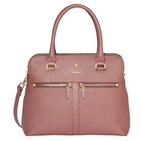 Modalu Pippa Small Leather Grab Bag Mauve