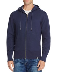 American Giant X Bloomingdale's Holiday Collection Classic Full Zip Hoodie Navy