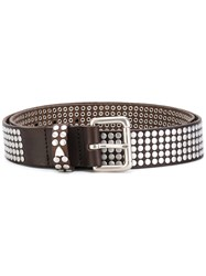 Htc Hollywood Trading Company Cintura Belt Unisex Leather 95 Brown
