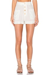 Sam And Lavi Austen Short White