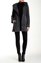 Luma Wool Blend Sweater Coat Gray