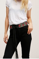 Streets Ahead Womens Wildrose Embroidered Belt