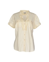 Henry Cotton's Shirts Beige