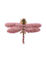 Vivetta Butterfly Brooch Pink And Purple
