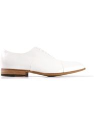 Raparo Contrast Oxford Shoe White