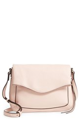 Vince Camuto Dafni Leather Crossbody Pink Cameo Rose