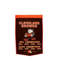 Winning Streak Cleveland Browns Dynasty Banner Team Color