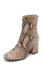 Free People Cecile Ankle Booties Taupe