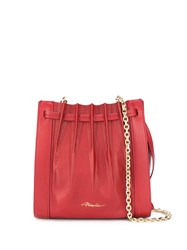 3.1 Phillip Lim Florence Mini Pleated Tote Red