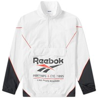 Reebok Printemps Half Zip Track Top White