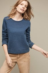 Anthropologie Amble Sweatshirt Dark Blue