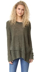 Wilt Mock Layered Tunic Sweater Bottle