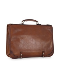 Pratesi Genuine Leather Document Case Brown
