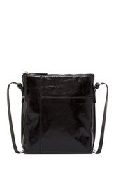 Hobo Alessa Leather Shoulder Bag Black