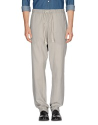 Poeme Bohemien Casual Pants Light Grey