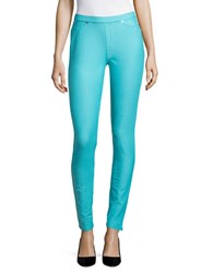 Michael Michael Kors Knit Leggings Turquoise