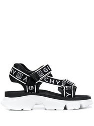 Givenchy Jaw Chunky Sandals Black