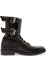 Isabel Marant Teylon Studded Leather Ankle Boots Black